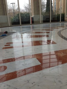 Marble cleaning & restoration