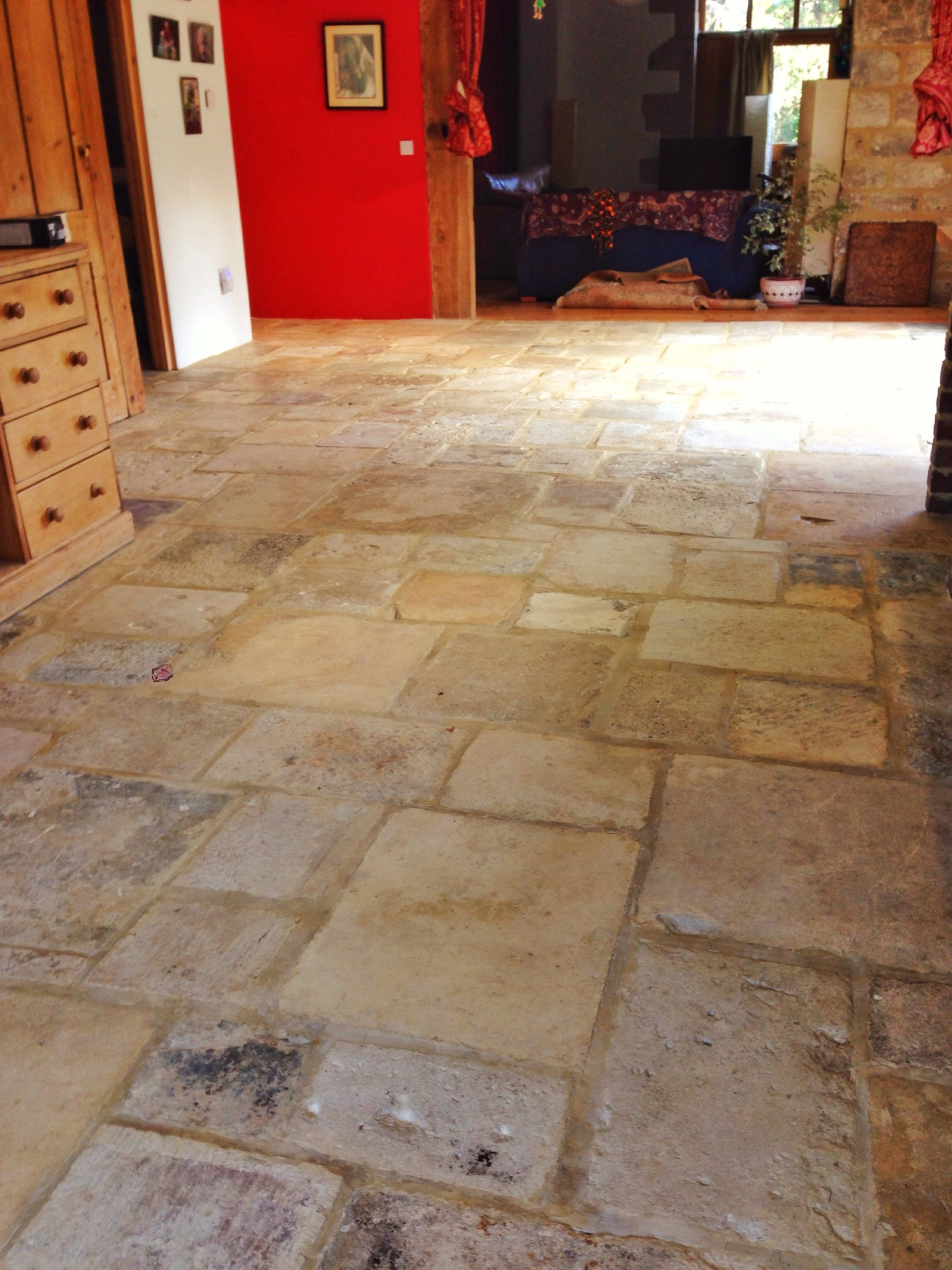 12 Marble Floor Designs For Styling Every Home: Cotswold Flag Stone Restoration